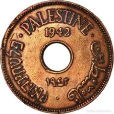 Monedas antiguas de Asia: MONEDA, PALESTINA, 10 MILS, 1941, MBC, COBRE - NÍQUEL, KM:4. Lote 194648023