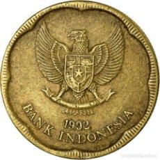 Monedas antiguas de Asia: MONEDA, INDONESIA, 500 RUPIAH, 1992, MBC, ALUMINIO - BRONCE, KM:54. Lote 194693541