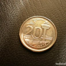 Monedas antiguas de Asia: SINGAPUR 20 CENTS 2013. Lote 194712816