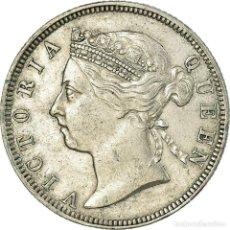 Monedas antiguas de Asia: MONEDA, COLONIAS DEL ESTRECHO, VICTORIA, 20 CENTS, 1886, EBC, PLATA, KM:12. Lote 194748635