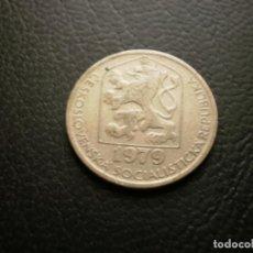Monedas antiguas de Asia: CHECOSLOVAQUIA 50 HALERU 1979. Lote 194911515