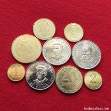 Monnaies anciennes d'Asie: TAJIKISTAN SERIE 2019 - 1 2 5 10 20 50 DIRAM 1 3 5 SOMONI TAYIKISTÁN 9 MONEDAS UNC. Lote 195024522