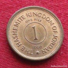 Monedas antiguas de Asia: JORDANIA 1 FILS 1960 JORDAN. Lote 195289188
