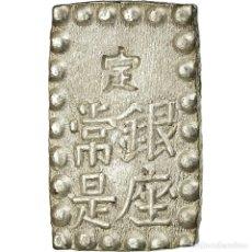 Monedas antiguas de Asia: MONEDA, JAPÓN, MUTSUHITO, SHU, ISSHU GIN, 1868-1869, EBC+, PLATA, KM:12A. Lote 195353500