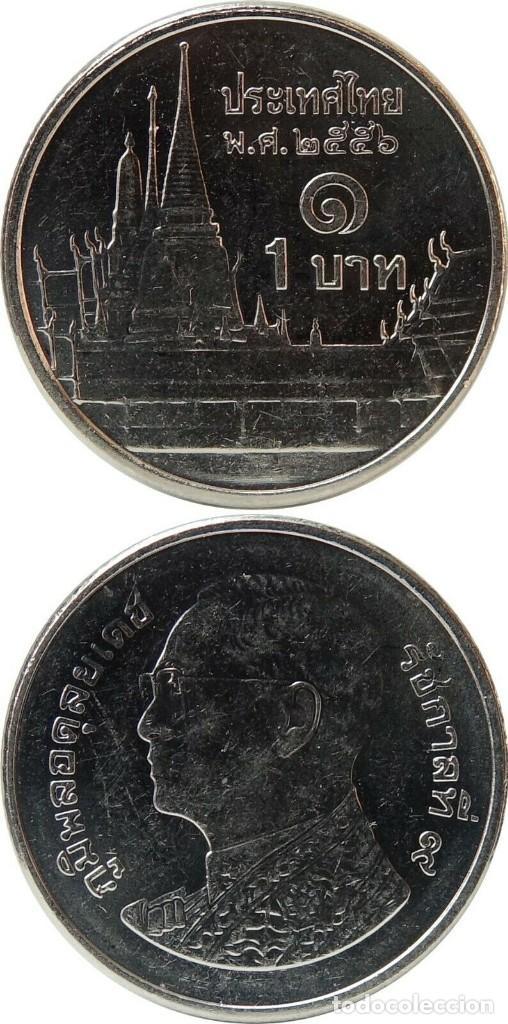 THAILANDIA 1 BATH (LOTE DE 25 MONEDAS) (Numismática - Extranjeras - Asia)