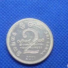 Monedas antiguas de Asia: SRI LANKA 2 RUPIAS 2011. Lote 195428890