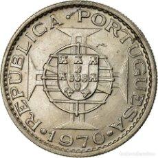 Monedas antiguas de Asia: MONEDA, TIMOR, 2-1/2 ESCUDOS, 1970, LISBON, MBC, COBRE - NÍQUEL, KM:20. Lote 195442165