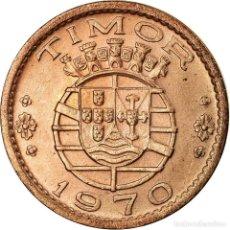 Monedas antiguas de Asia: MONEDA, TIMOR, 20 CENTAVOS, 1970, LISBON, MBC, BRONCE, KM:17. Lote 195442277