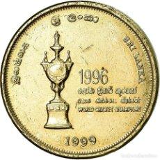Monedas antiguas de Asia: MONEDA, SRI LANKA, 5 RUPEES, 1999, MBC, ALUMINIO - BRONCE, KM:161. Lote 195442751