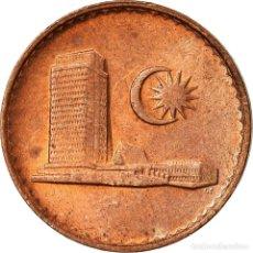 Monedas antiguas de Asia: MONEDA, MALASIA, SEN, 1988, MBC, COBRE RECUBIERTO DE ACERO, KM:1A. Lote 195443913