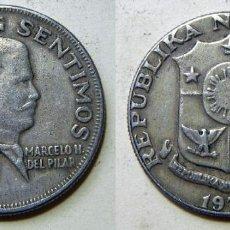 Monedas antiguas de Asia: MONEDA DE FILIPINAS 50 SENTIMOS 1972. Lote 195444776