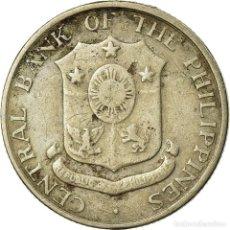 Monedas antiguas de Asia: MONEDA, FILIPINAS, 10 CENTAVOS, 1962, MBC, COBRE - NÍQUEL - CINC, KM:188. Lote 195444237