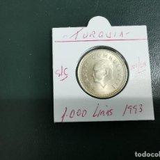 Monedas antiguas de Asia: TURQUIA(TURKIA) 1000 LIRAS 1993 S/C KM 997. Lote 195505981