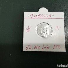 Monedas antiguas de Asia: TURQUIA(TURKIA) 50.000 LIRAS 1999 S/C KM 1103. Lote 195506538