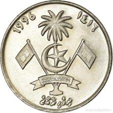 Monedas antiguas de Asia: MONEDA, ISLAS MALDIVAS, RUFIYAA, 1996, MBC, COBRE - NÍQUEL, KM:73A. Lote 195512016
