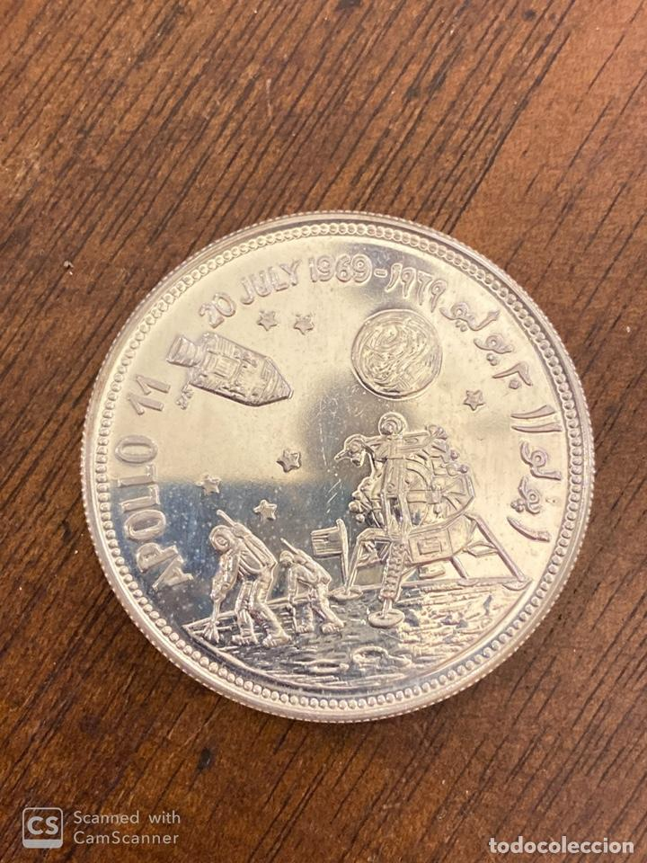Monedas antiguas de Asia: MONEDA. YEMEN. 2 RIAL. APOLLO 11. 1979. PLATA. S/C. VER FOTOS. - Foto 3 - 214756871