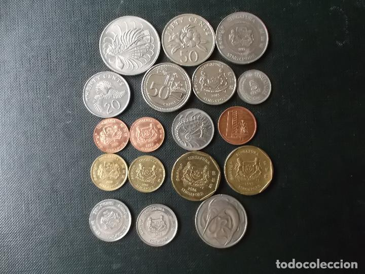 COLECCION DE MONEDAS DE SINGAPOUR (Numismática - Extranjeras - Asia)
