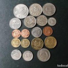 Monedas antiguas de Asia: COLECCION DE MONEDAS DE SINGAPOUR. Lote 144200626