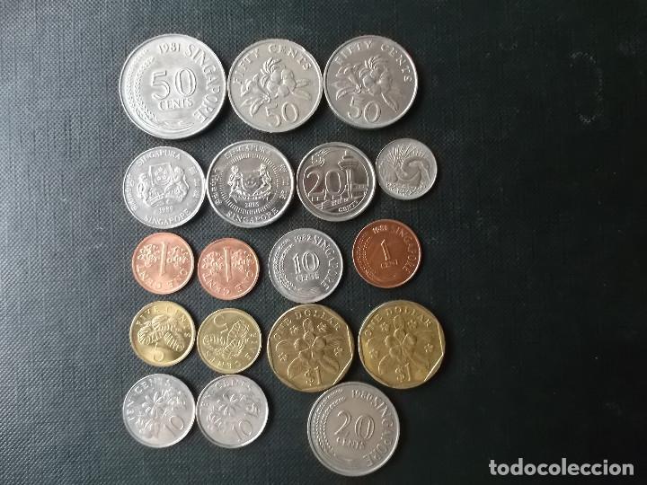 Monedas antiguas de Asia: coleccion de monedas de Singapour - Foto 2 - 144200626