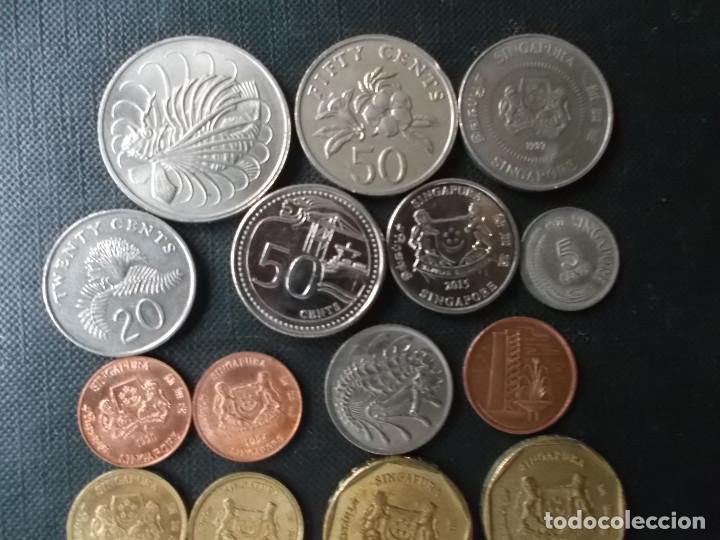 Monedas antiguas de Asia: coleccion de monedas de Singapour - Foto 3 - 144200626