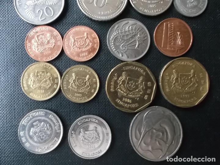 Monedas antiguas de Asia: coleccion de monedas de Singapour - Foto 4 - 144200626