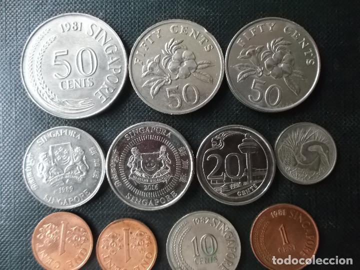 Monedas antiguas de Asia: coleccion de monedas de Singapour - Foto 5 - 144200626