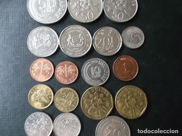 Monedas antiguas de Asia: coleccion de monedas de Singapour - Foto 6 - 144200626