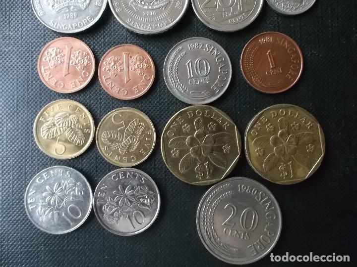 Monedas antiguas de Asia: coleccion de monedas de Singapour - Foto 7 - 144200626