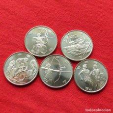 Monedas antiguas de Asia: JAPON 5 X 100 YEN 2020 JUEGOS OLÍMPICOS JAPAN NIPPON. Lote 211836778
