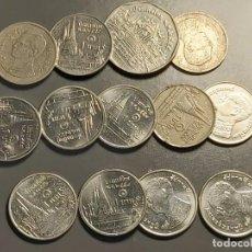 Monedas antiguas de Asia: LOTE 15 MONEDAS TAILANDIA. Lote 199318391