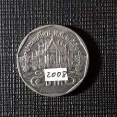 Monete antiche di Asia: TAILANDIA 5 BAHTS 2008 Y446. Lote 200017100
