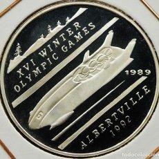 Monedas antiguas de Asia: AFGHANISTAN 500 AFGHANIS 1989 PROOF. PLATA 0,999. ESCASA SOLO 10.000 PIEZAS. Lote 204269277