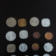 Monedas antiguas de Asia: LOTE 16 MONEDAS DE PAKISTÁN DE 1951 A 1989. Lote 204679413