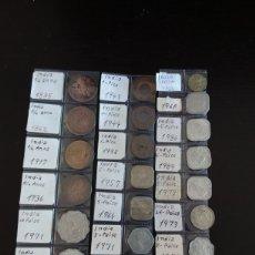 Monedas antiguas de Asia: INDIA. LOTE 24 MONEDAS DE 1835 A 1989. Lote 205029113