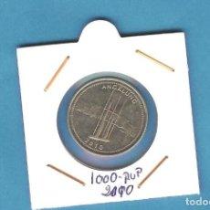 Monedas antiguas de Asia: INDONESIA. 1000 RUPIAH. 2010.ACERO BAÑADO EN NÍQUEL. KM#70. Lote 236409545