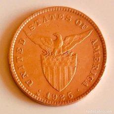 Monedas antiguas de Asia: BONITA MONEDA BRONCE FILIPINAS 1925 PERIODO USA. Lote 205871692