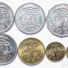 Monedas antiguas de Asia: LOTE MONEDAS MACAO MACAU PATACA AVOS . VARIOS AÑOS . REF. 880. Lote 206512140