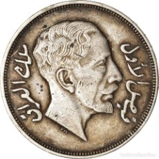 Monedas antiguas de Asia: MONEDA, IRAQ, FAISAL I, RIYAL, 200 FILS, 1932, ROYAL MINT, MBC, PLATA, KM:101. Lote 207128530