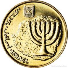 Monedas antiguas de Asia: MONEDA, ISRAEL, 10 AGOROT, 2009, SC+, ALUMINIO - BRONCE, KM:158. Lote 207153861