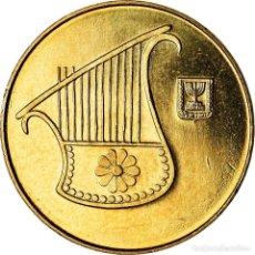 Monedas antiguas de Asia: MONEDA, ISRAEL, 1/2 NEW SHEQEL, 2006, SC, ALUMINIO - BRONCE, KM:159. Lote 207154118