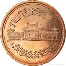 Monedas antiguas de Asia: MONEDA, JAPÓN, AKIHITO, 10 YEN, 2005, SC+, BRONCE, KM:97.2. Lote 207208165