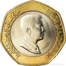 Monedas antiguas de Asia: MONEDA, JORDANIA, ABDULLAH II, 1/2 DINAR, 2000, SC+, BIMETÁLICO, KM:79. Lote 207210820