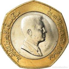 Monedas antiguas de Asia: MONEDA, JORDANIA, ABDULLAH II, 1/2 DINAR, 2000, SC, BIMETÁLICO, KM:79. Lote 207211540