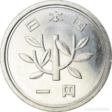 Monedas antiguas de Asia: MONEDA, JAPÓN, AKIHITO, YEN, 1996, FDC, ALUMINIO, KM:95.2. Lote 207212178