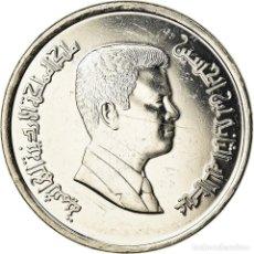 Monedas antiguas de Asia: MONEDA, JORDANIA, ABDULLAH II, 10 PIASTRES, 2004, SC+, NÍQUEL CHAPADO EN ACERO. Lote 207214783
