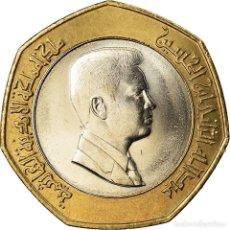 Monedas antiguas de Asia: MONEDA, JORDANIA, ABDULLAH II, 1/2 DINAR, 2000, SC+, BIMETÁLICO, KM:79. Lote 207216877