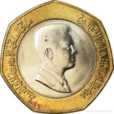 Monedas antiguas de Asia: MONEDA, JORDANIA, ABDULLAH II, 1/2 DINAR, 2000, SC, BIMETÁLICO, KM:79. Lote 207217936