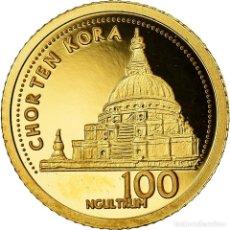 Monedas antiguas de Asia: MONEDA, BUTÁN, JIGME KHESAR NAMGYEL WANGCHUCK, 100 NGULTRUMS, 2011, PROOF, FDC. Lote 207232570