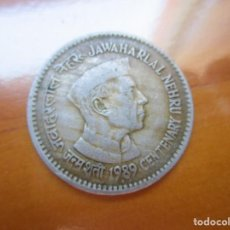 Monnaies anciennes d'Asie: INDIA - 1 RUPIA 1989 BOMBAY. Lote 208935167