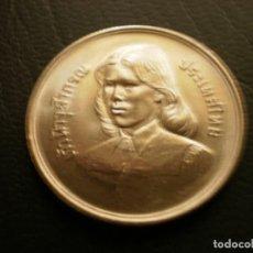 Monete antiche di Asia: TAILANDIA 10 BAHT 2529 - 1979. Lote 209737227